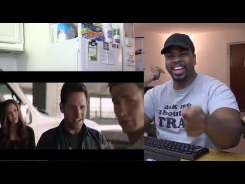 CAPTAIN AMERICA: CIVIL WAR Movie Clip - Ant-Man Recruit REACTION!!!