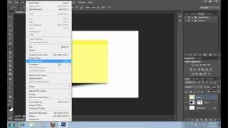 How to Make a Sticky Note in Photoshop CS6