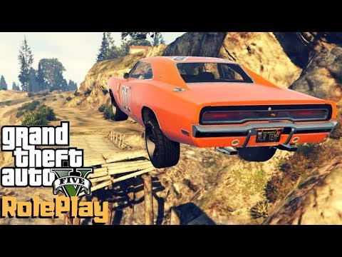 Gta 5 Roleplay - Repainted The Charger The General Lee - Ep. 216 - CV