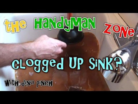How to Unclog a Kitchen Sink : The Handyman Zone