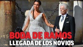 La boda de Sergio Ramos y Pilar Rubio: llegada de los novios I MARCA