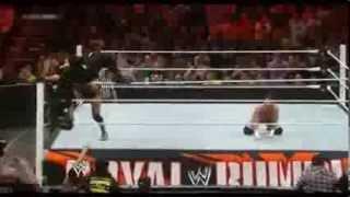 Royal Rumble Match 2014 Highlights