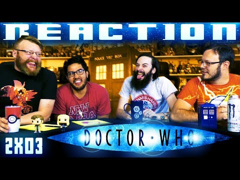 "Doctor Who 2x3 REACTION!! ""School Reunion"""