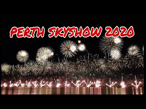 AUSTRALIA DAY FIREWORKS 2020/PERTH