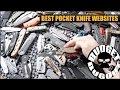 Best Pocket Knife Websites For Knife Enthusiasts
