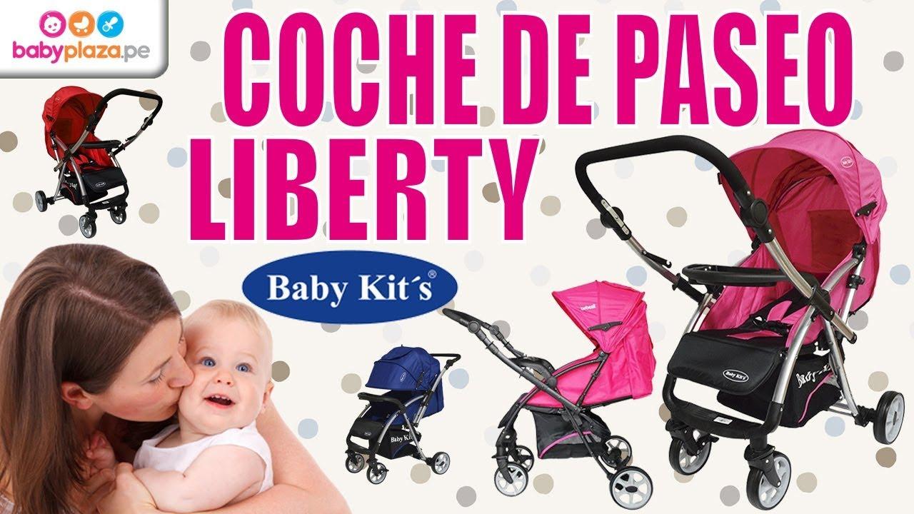1ba5363c7 Coche de Paseo Liberty- Baby Kits | BabyPlaza - YouTube