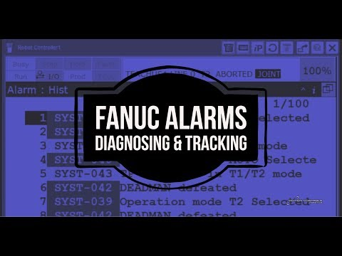FANUC Alarms How To Robot Series