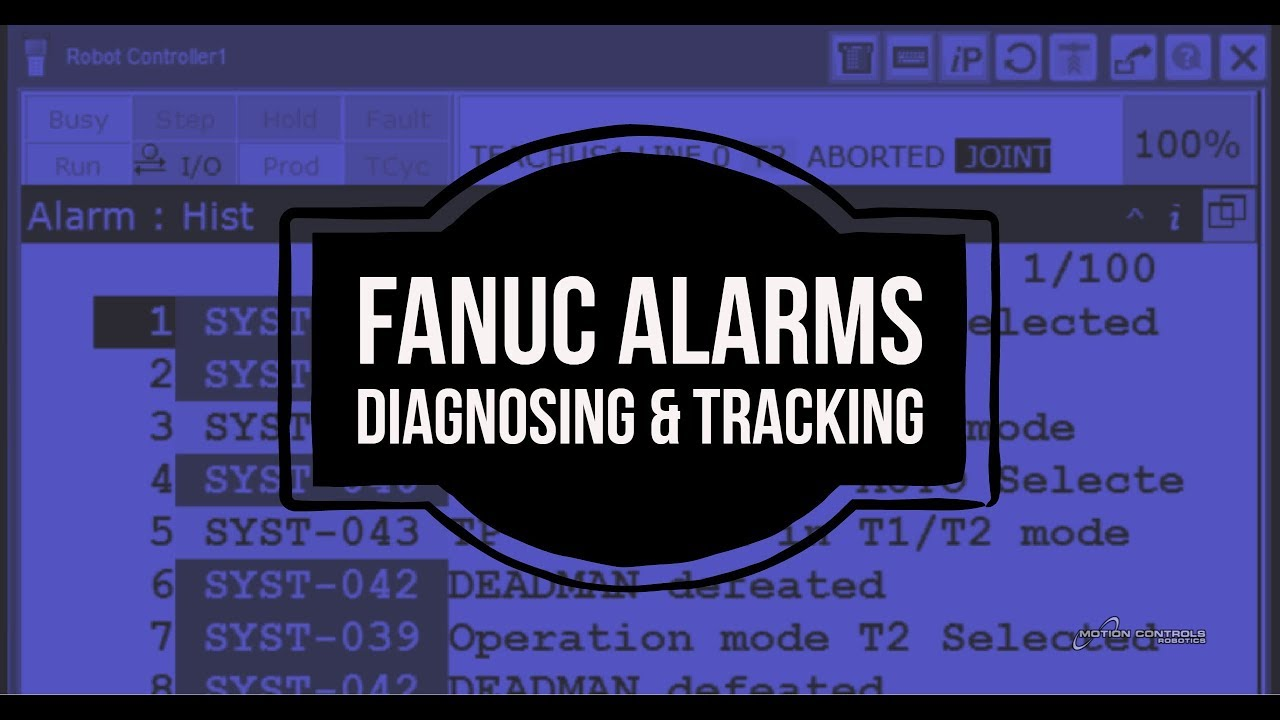 FANUC Alarms - How-to Robot Series