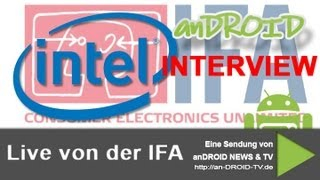 IFA 2012 - Interview bei Intel mit Björn Taubert - anDROID TV