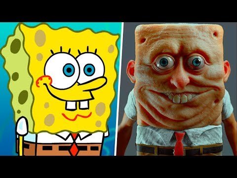 Spongebob in Real Life! Main Characters