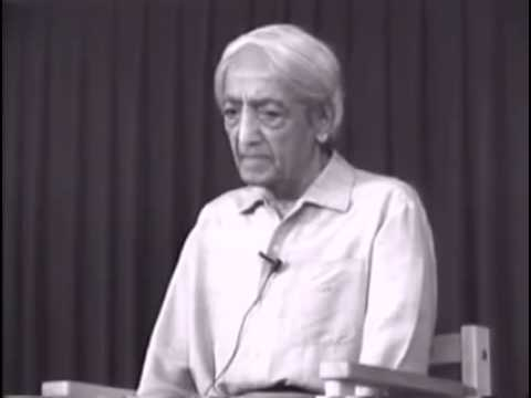 Krishnamurti - Isolation, Intelligence, Meditation (Talk 3/4)