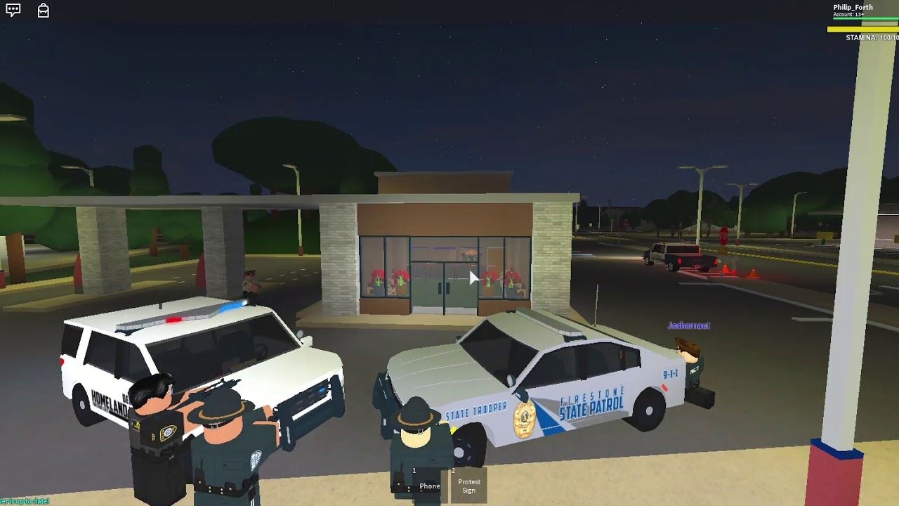 How to rob a bank in Firestone