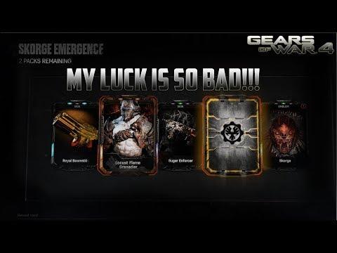 Gears of War 4 - Ess Helios *SKORGE PACK OPENING!!* (MY LUCK IS SO BAD)