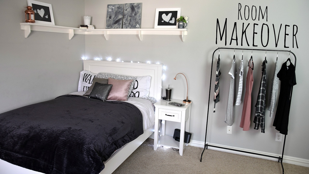 EXTREME Room Makeover! Modern and Simple - YouTube