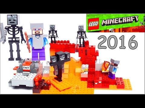 LEGO Minecraft 21126 Иссушитель Обзор