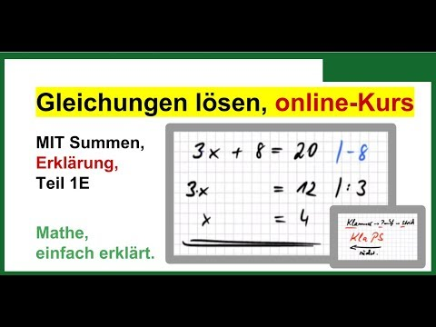 gleichungen l sen formeln umstellen mit summen erkl rung mooc gll01e youtube. Black Bedroom Furniture Sets. Home Design Ideas
