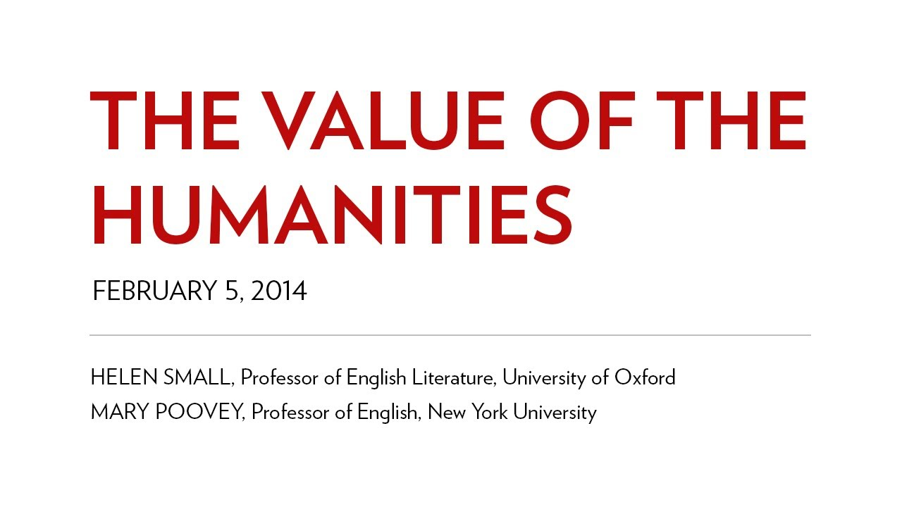the value of the humanities By james kwak in the washington post, harvard medical school professor david silbersweig argues for the continuing value of a liberal arts education in today's world.
