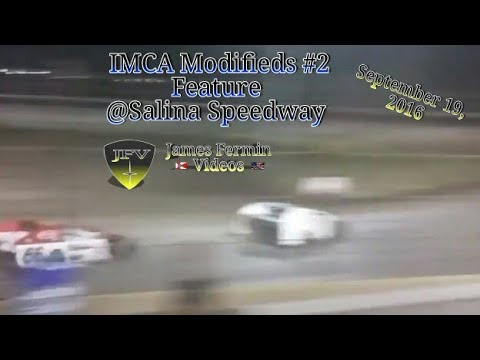 IMCA Modified Feature #2, Salina Speedway