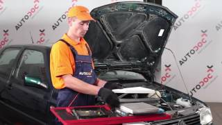 Išmontavimo Stiklo valytuvai VW - vaizdo vadovas