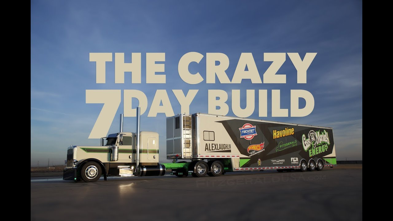 956eb284f7df 7 days to build the Gas Monkey Energy race hauler for Laughlin Motorsports.