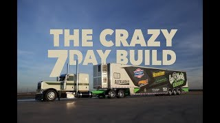 7 days to build the Gas Monkey Energy race hauler for Laughlin Motorsports.