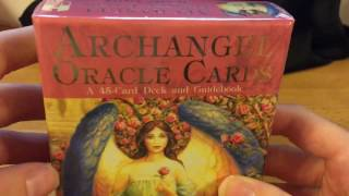 UNPACKING REVIEW: Doreen Virtue's Archangel Oracle Cards 45 Card Deck and Guidebook Unbiased