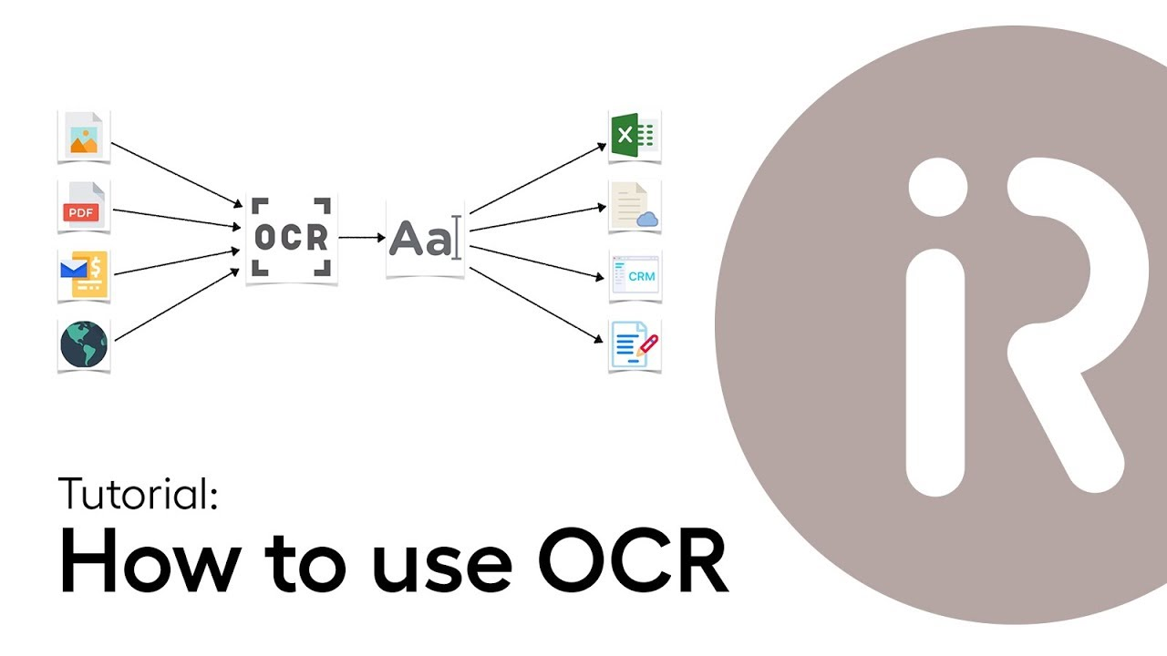 Lesson 4 - How to use OCR in WorkFusion RPA Express