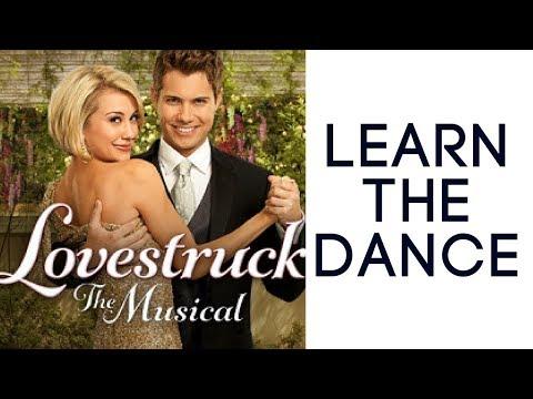 Drew Seeley/Chelsea Kane 'DJ got us fallin' in love' rehearsal (Lovestruck)