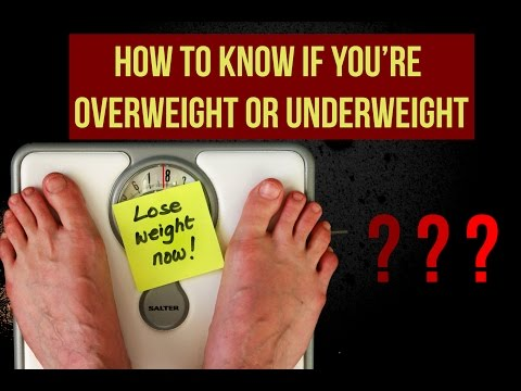 Am I Overweight or Underweight? (Scientific Method) | Healthy Mondays