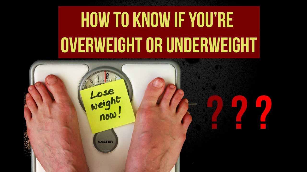 How can you tell if you are overweight