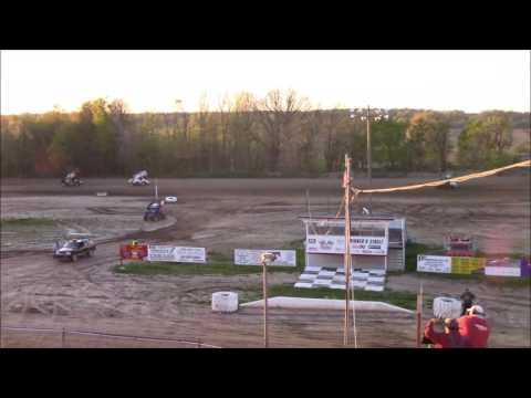 Butler Motor Speedway Sprint Heat #2 5/6/17
