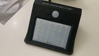 LED Фонарь .Автономное освещение . Обзор фонарей на солнечных панелях