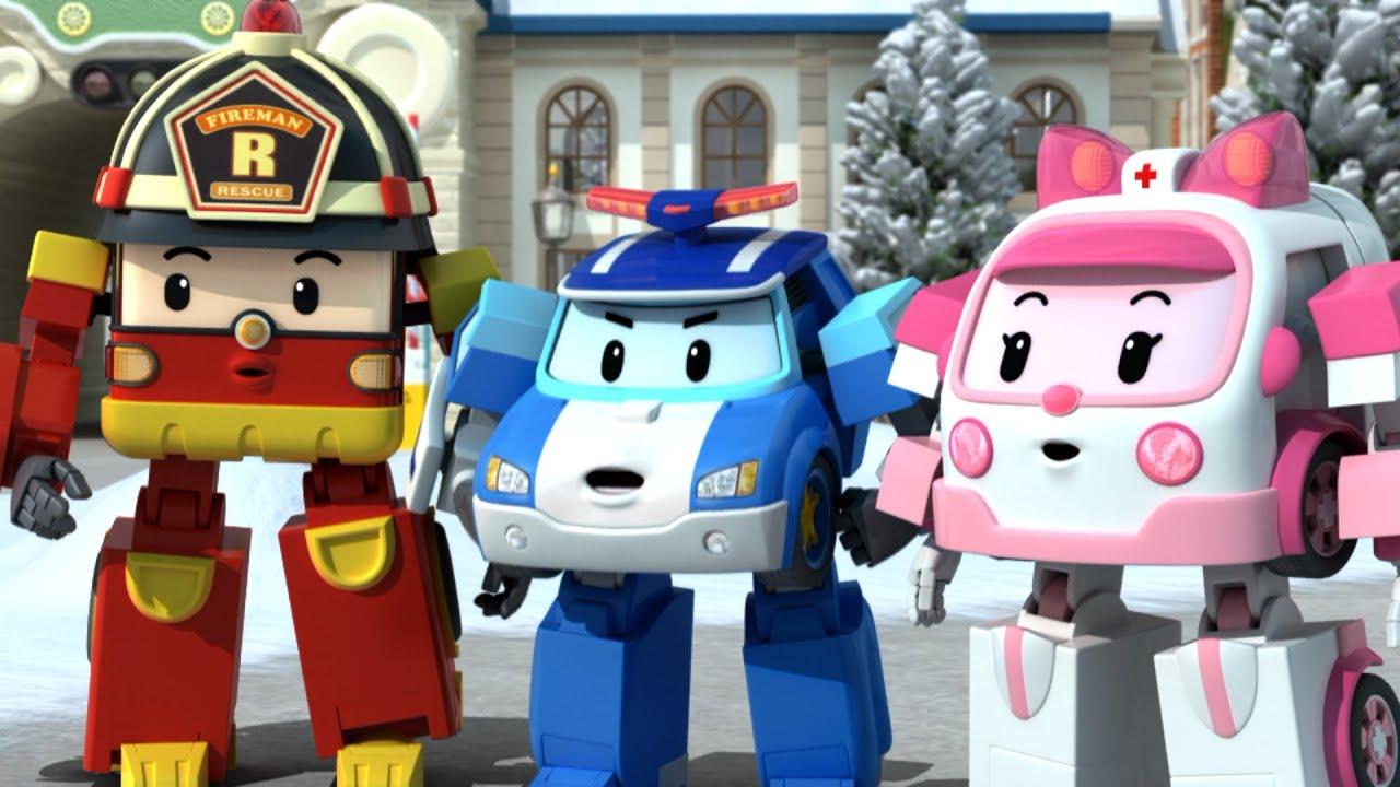 Download ⭐Best episodes │🚦Traffic Safety with POLI│Robocar POLI TV