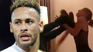 Neymar Fights Off Woman Going After Him In Viral Video