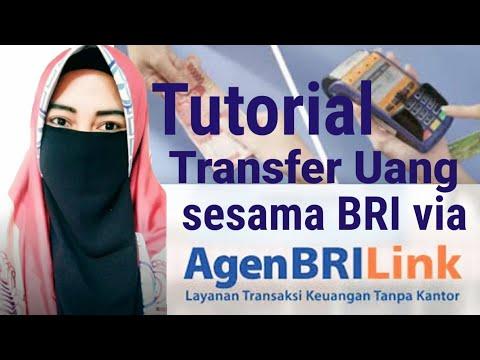 Cara transfer uang ke sesama Bank BRI di agen BRI LINK
