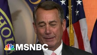 Frmr. Speaker Boehner Slammed in 'Dear John' Letter For New Book Calling Out GOP He Used To Condone