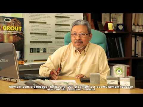 Eco Green Brick Cement Free Concrete ( Prof. Ir. Dr. Mohd Warid Hussin )