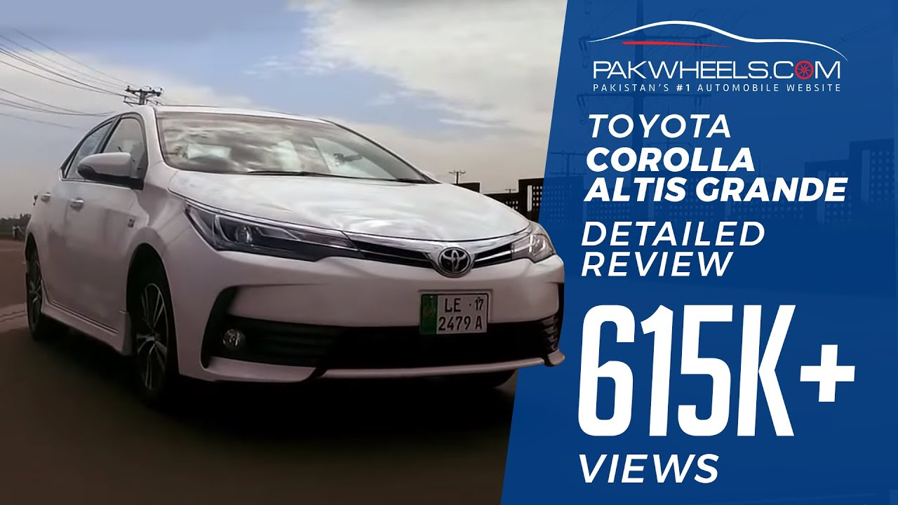 Toyota Corolla Altis Grande Detailed Review Price Specs Features