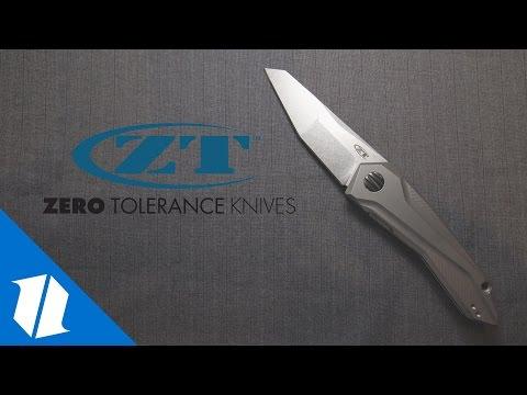 NEW Zero Tolerance Knives | SHOT Show 2017