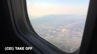 Repeat youtube video Nok Air Take off and Landing (CEI to DMK)