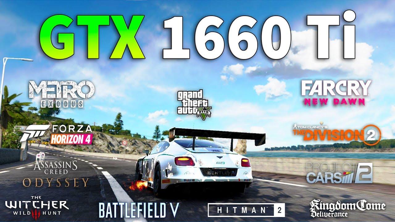 Geforce gtx 1660 ti test