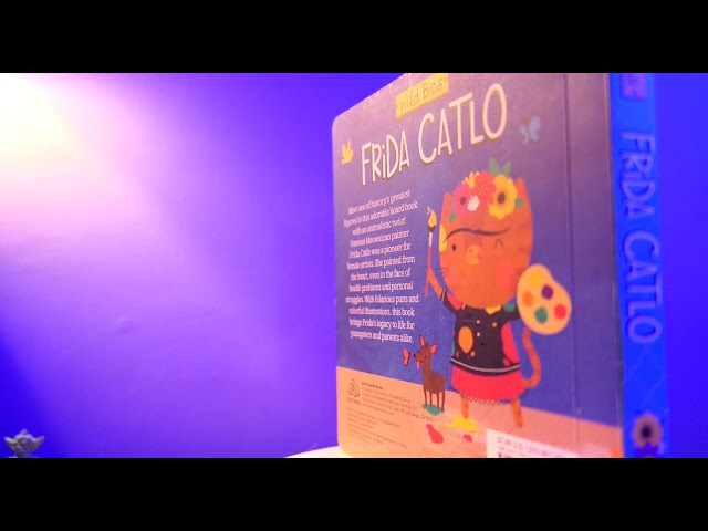Frida Catlo Book promo