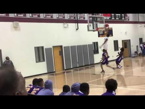 Jonathan Echols vs Villa Rica Middle School Basketball Highlights