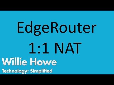 EdgeRouter 1:1 NAT - YouTube