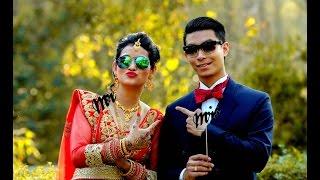 wedding day peeks   avay weds swati