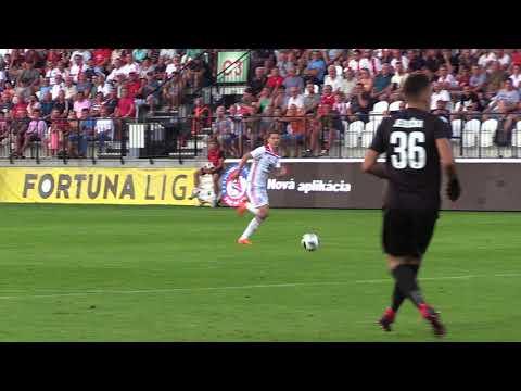 Zostrih zo stretnutia AS Trenčín - FC DAC 1904 Dunajská Streda 3:3 (0:1)