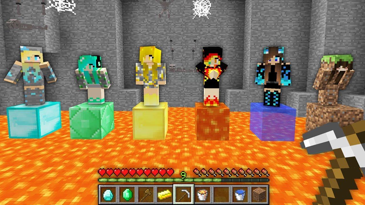 HANGİ KIZI KURTARMALIYIM 😱 - Minecraft