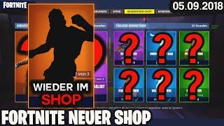 FORTNITE SHOP à partir de 5.9 - RARE SKIN! 🛒 Fortnite Daily Item Shop (Aujourd'hui) (05 septembre 2018) Detu Detu