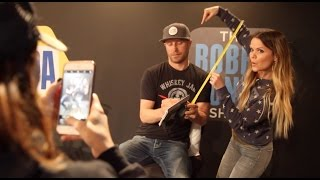 Dierks Bentley Visits The Studio To Measure Amy