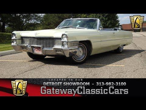 1965 Cadillac Coupe Deville Convertible, Gateway Classic Cars-Detroit#1259
